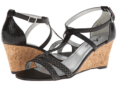 Annie Leilani Black Painted Snake - Zappos.com Free Shipping BOTH Ways