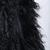 Black Sleeveless Faux Fur Long Vest - Sheinside.com