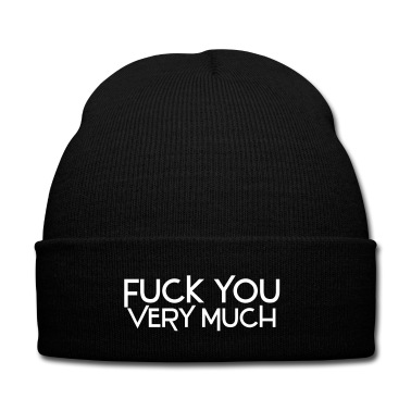 fuck you very much deluxe Cap | Spreadshirt | ID: 13886995
