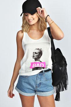 Lisa Turn Up Baggy Style Boyfriend Denim Shorts at boohoo.com