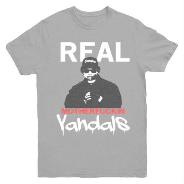 shirt eazy e real mf'n vandals t-shirt