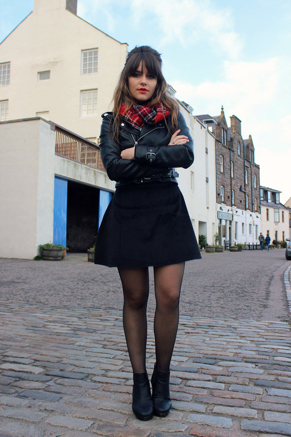 the little magpie skirt scarf jacket sweater jewels