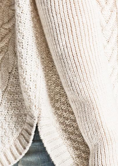 MANGO - NEW - Oversize mohair wool-blend sweater