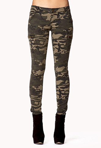 Camo Skinny Jeans | FOREVER21 - 2047479976
