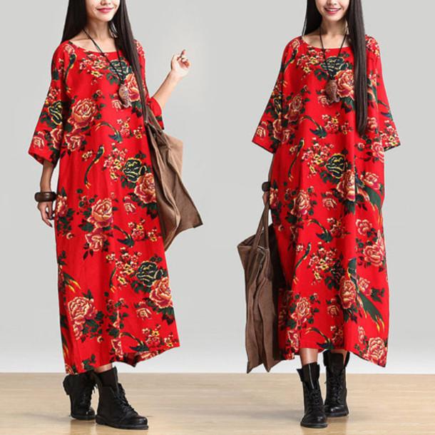 dress maxi dress red dress blue dress
