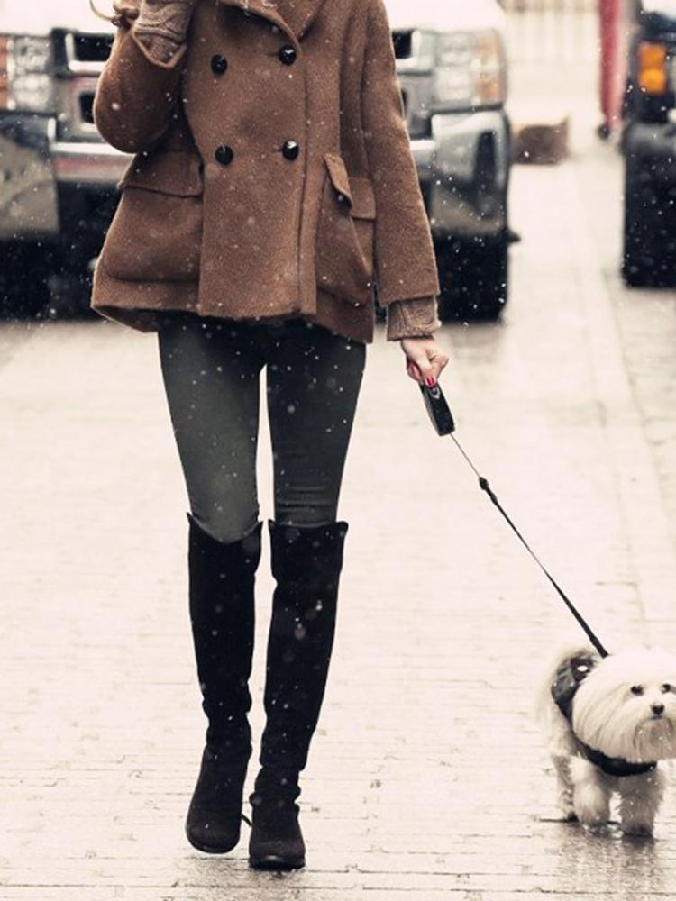 Black Over the Knee Boots | Choies