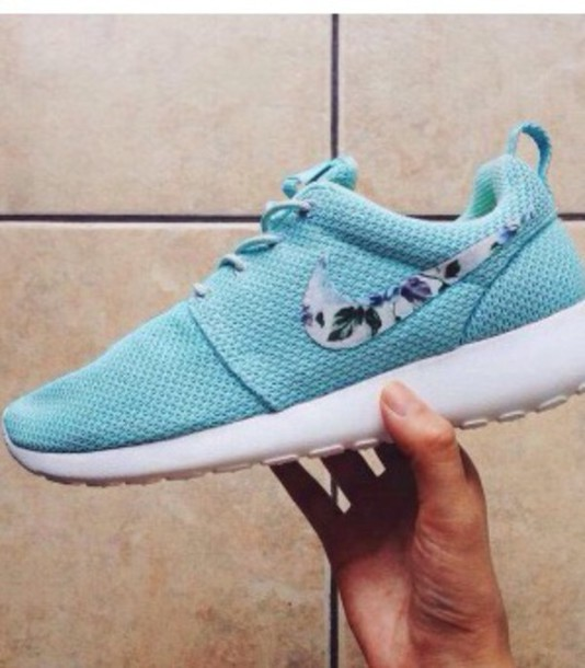 shoes blue nike shoes