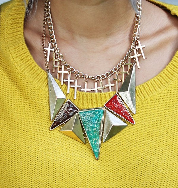 jewels gold necklace necklace statement necklace blue black red gold gold jewelry vintage
