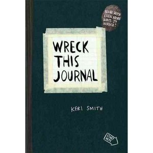 Wreck This Journal (Black): To Create Is to Destroy, Smith, Keri: Health, Mind & Body : Walmart.com