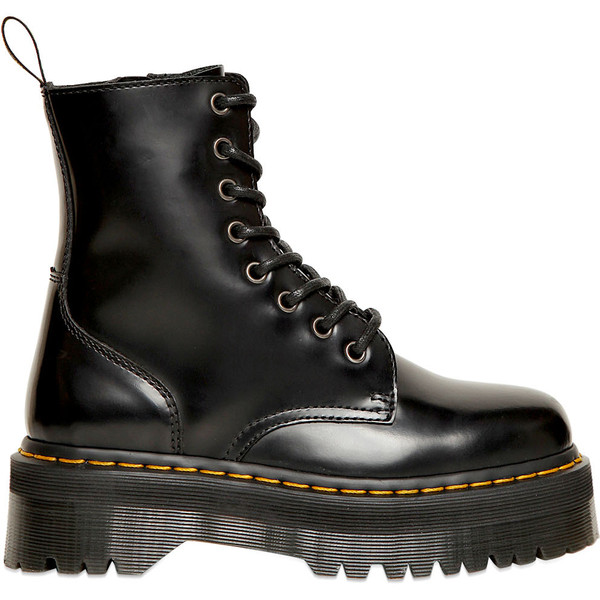 DR.MARTENS 30mm Jadon Calfskin Double Sole Boots - Dr. Martens - Polyvore