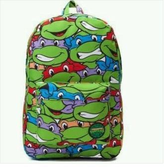 bag tmnt bookbag colorful vibrant cool