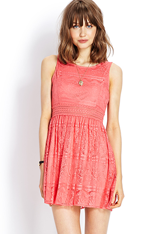 Lady in Lace Dress | FOREVER21 - 2000070738
