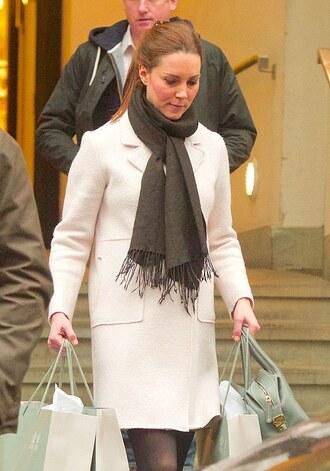 kate middleton zara white coat coat