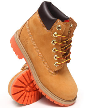 "Buy 6"" Premium Waterproof Boots Boys Footwear from Timberland. Find Timberland fashions & more at DrJays.com"