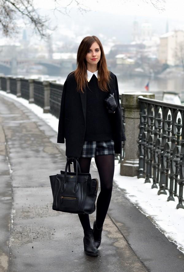 vogue haus blouse sweater coat shorts shoes bag