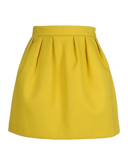 Maison Kitsune Mini Skirt - Maison Kitsune Skirts Women - thecorner.com