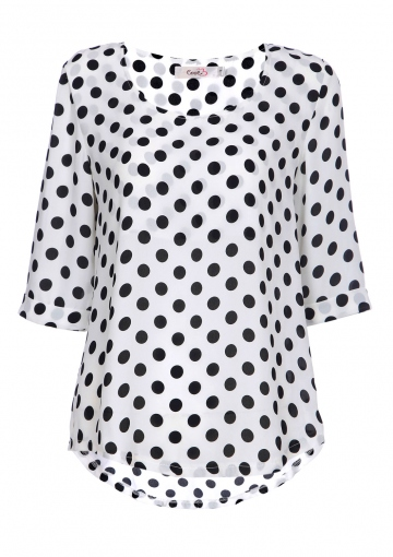 Romance Polka Dot Top - Happiness Boutique