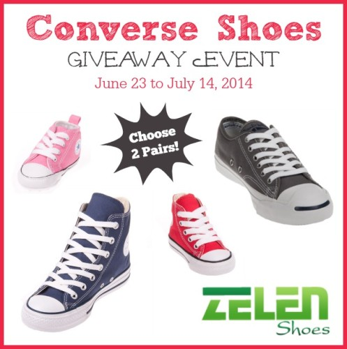Win 2 Pairs of Converse Shoes from Zelen Shoes! #conversevancouver