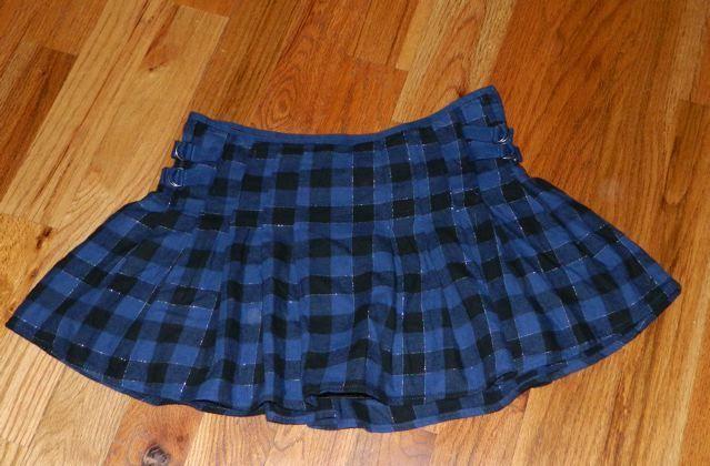 Women's Misses Junior's Blue Black Plaid School Girl Mini Skirt Aerie Size 4 | eBay
