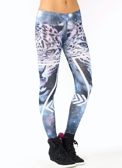 Leopard-Galaxy-Leggings PURPLEWHT - GoJane.com