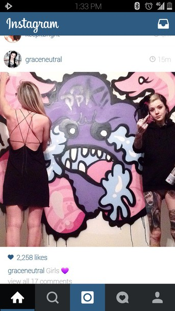 dress black sweater stars alternative goth emo punk