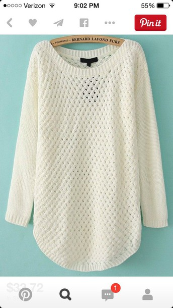 sweater white style