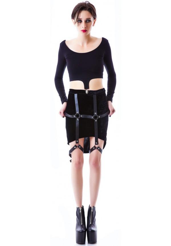 skirt dollkill harness
