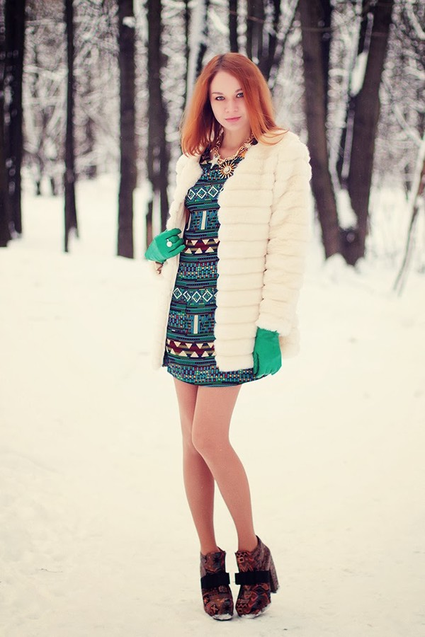 gvozdishe coat dress jewels