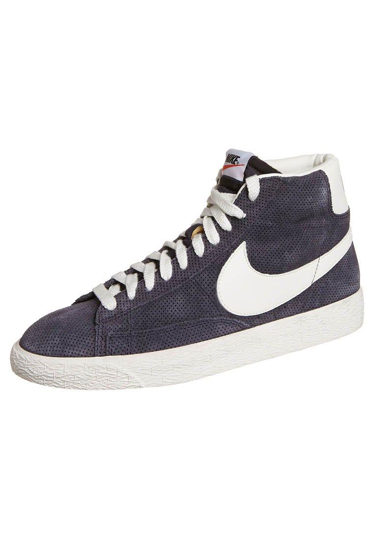 Nike Sportswear BLAZER MID PREMIUM - Baskets montantes - bleu - ZALANDO.FR
