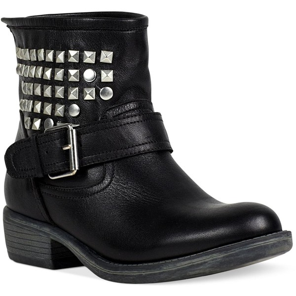 Steve Madden Women's Booties, Outlaw Studded Booties - Polyvore