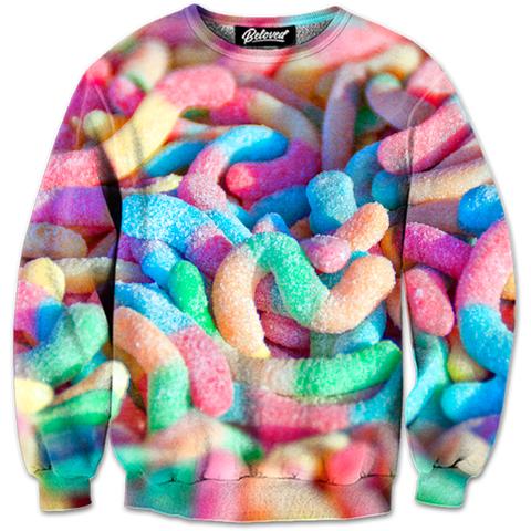 Sour Worms Sweatshirt