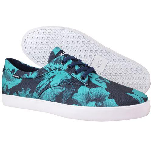 Chaussures HUF Sutter Shoes Navy sur UrbanLocker.com