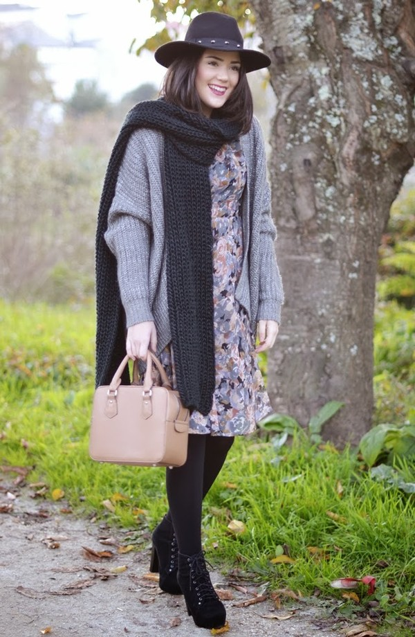 si las calles hablasen dress bag shoes sweater scarf hat