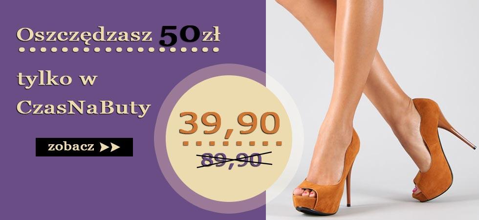 Obuwie damskie > CzasNaButy.pl > Modne , tanie buty dla kobiet.