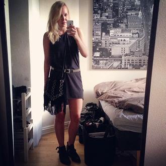 elenita dress belt bag shoes