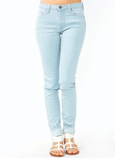 GJ | Basic Skinny Jeans $44.50 in BLACK LTBLUE WHITE - Jeans | GoJane.com