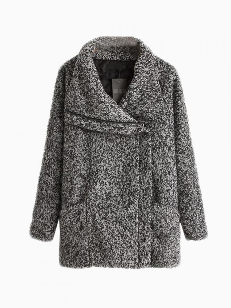 Limited Edition Tubaeform Coat In Gray | Choies