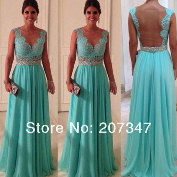 dress blue celebrity  dress  princess dress blue dress lace dress