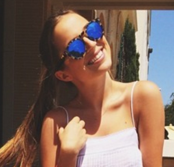 sunglasses blue grace morton g_mort brown rkoi mirrored sunglasses mirrored instagram instagram