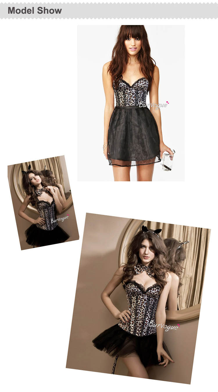 Free Shipping! New Leopard corset top with cup sexy corset and bustier fashion corset top-in Bustiers & Corsets from Apparel & Accessories on Aliexpress.com