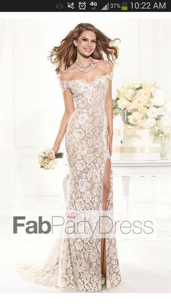 dress prom dress lace mermaid/trumpet