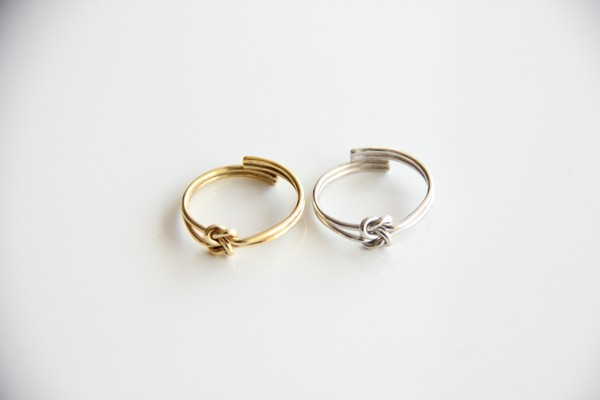 jewels ring gold silver jewelry gold ring silver ring knotted set gold jewelry silver jewelry