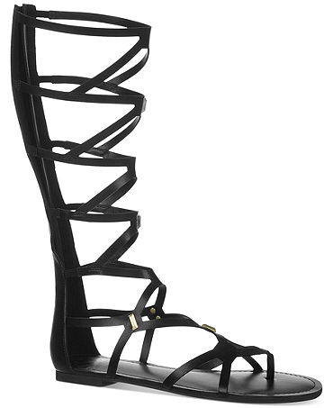 Fergalicious Ferocious Knee High Gladiator Sandals - Shoes - Macy's