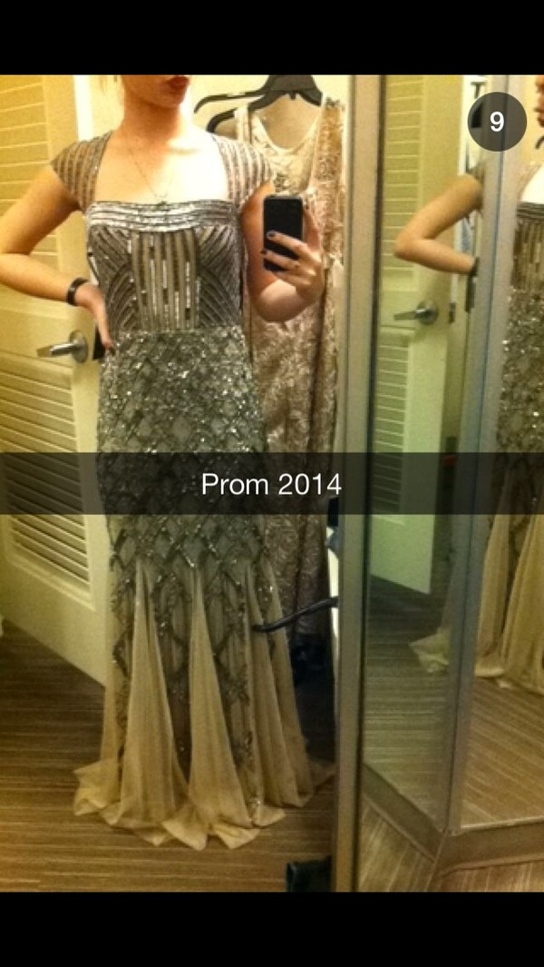 dress prom dress long prom dress sequins vintage indie boho chic the great gatsby