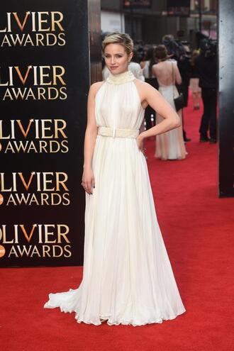 dress gown prom dress wedding dress dianna agron red carpet red carpet dress