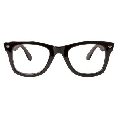 Clear Lens Fashion Glasses - Black : Target