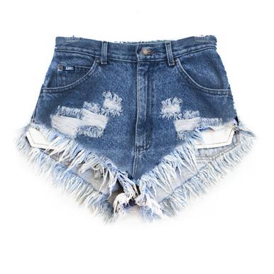 Original 420 Fray Shorts - Arad Denim