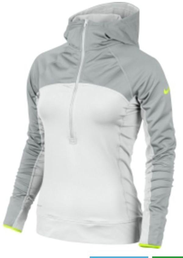 sweater nike hoodie white sportswear