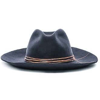 hat artesano wide brim black classic charcoal grey gris chapeau revolve clothing revolve accessoire accessories mignon urban