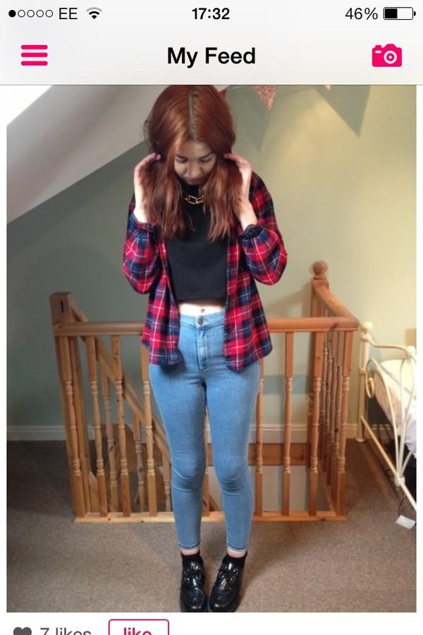 t-shirt jeans shirt